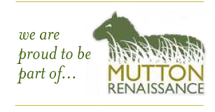 we are proud to be part of mutton renaissance